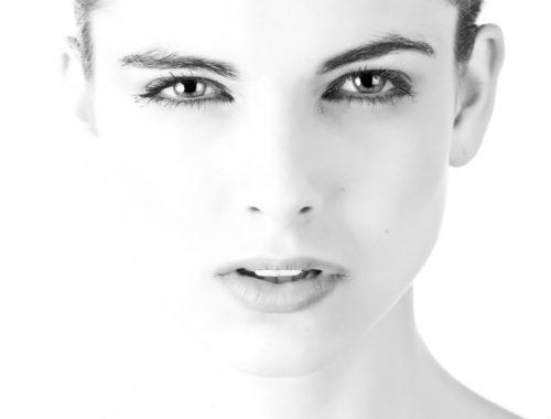 Empfindliche Augen und Make-up